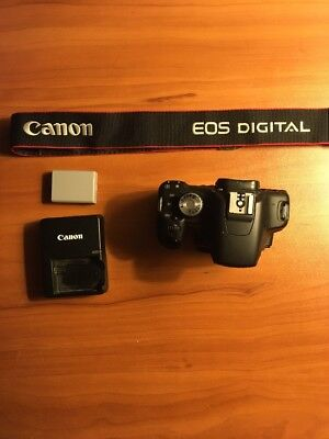 Canon Eos Rebel T1i Body With Charger.