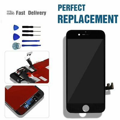 """IPhone 7 4.7"""" Screen Digitizer LCD Touch Display Black Assembly Replacement"""