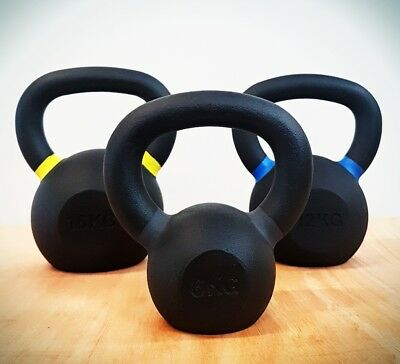 Kettle bell set (6, 8, 12 and 16kg)