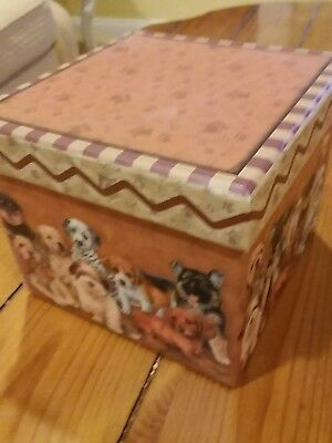 Puppy love compartment  box