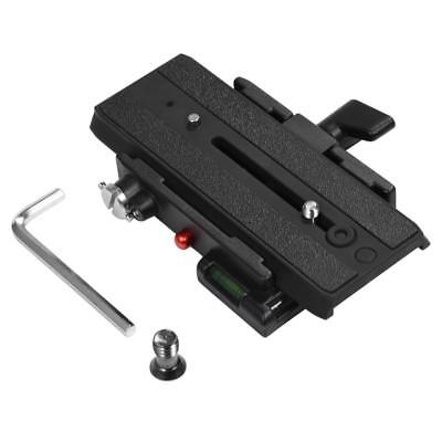 Clamp & Quick Release Plate For Tripod Monopod Benro DSLR Camera photography
