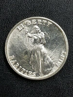 1980's High Relief 1 oz Art Round Rarities Mint Liberty Silver Eagle