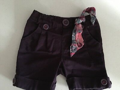 Run Scotty Run Adorable Purple Girls Shorts. Size 1. Collect Or Post