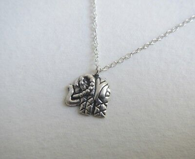 Sterling Silver 925 Necklace with Small Elephant Pendant
