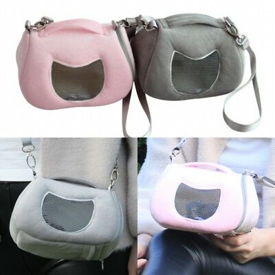 Small Pet Puppy Hamster Carrier Bag Shoulder Carry Handbag Travel Tote Pouch