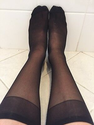 Knee Highs Worn Used Condition FREE POST