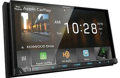Kenwood DDX9705S DVD/CD Player 6.95 Wifi Android Auto Carplay HD Radio Bluetooth