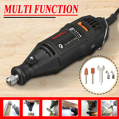 262in1 Mini Electric Die Grinder Rotary Tool Set Polisher Accessory Engraver AU