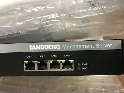 TANDBERG TelePresence Management Server TTC2-03/ Rev 3, TMS appliance 25 system