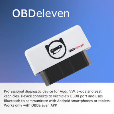 OBDeleven OBD diagnostic tool for Audi, Skoda, Seat, Vw
