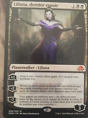 Carte magic mtg : Liliana, The Last Hope/ Liliana  dernier espoir   vf