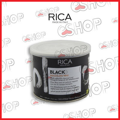 Rica Cera Black Brazilian Al Carbone Vegetale 400Ml