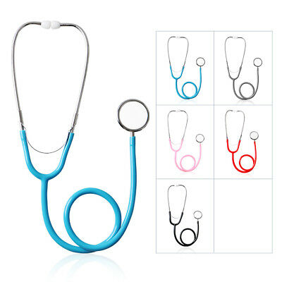 5 Color  Cardiology Stethoscope Double Dual Soft ear - Special design PVC Tube