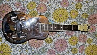 Recording King Resonator Steel Ukulele