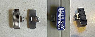 1 only   QUALITY  MAGNETIC HAT CLIP FOR GOLF BALL MARKERS (Holds 2 Markers)
