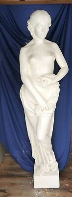 Art Deco Chicago Movie Palace Statue Nude Lady Life Size Architectural Salvage