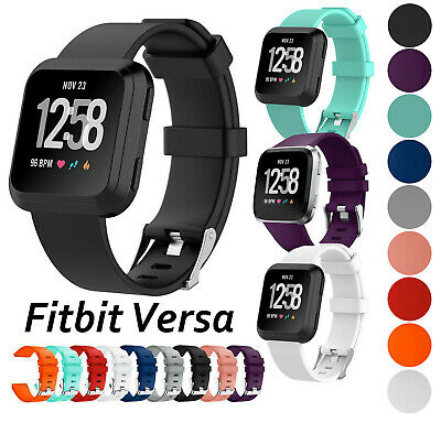 Secure Replacement Buckle Strap for Fitbit Versa *UK* Band Wristband Metal