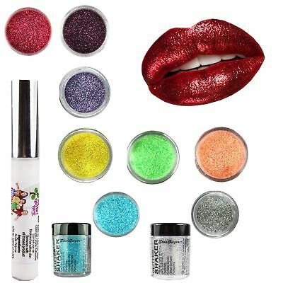 Stargazer Cosmetic Glitter & Lip Glue Glitter Lips Eyeshadow Body Art Set