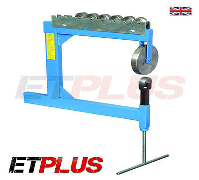English Wheel / Wheeling Metal Working Machine Bench Mounted PLUSET c/w Formers
