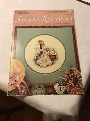 Cross Stitch book - Summer remembered