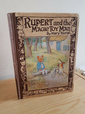 RUPERT AND THE MAGIC TOY MAN - Mary Tourtel - v early 1920s Rupert Bear book