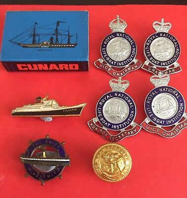 VARIOUS NAUTICAL SHIPPING ITEMS x 8