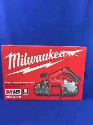 Milwaukee 2629-20 M18 18-Volt Lithium-Ion Cordless Band Saw (Tool-Only) - NEW