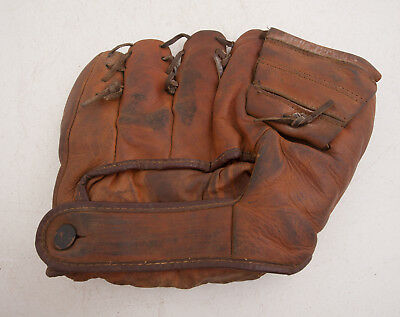 Ted Williams Baseball Glove Type 2054-1 Genuine Cowhide Hnad Formed Pocket (B2L)