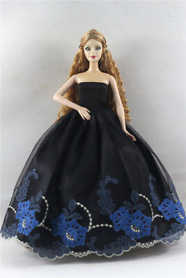 Fashion Princess Party Dress/Evening Clothes/Gown For Barbie Doll p10