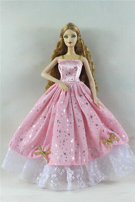 Fashion Princess Party Dress/Evening Clothes/Gown For Barbie Doll p11