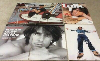 45+ Tom Cruise Clippings. ***very Rare & Recent***