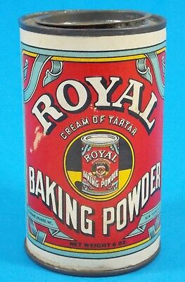 "Antique ""Royal"" Baking Powder (Standard Brands) Tin Nice!"