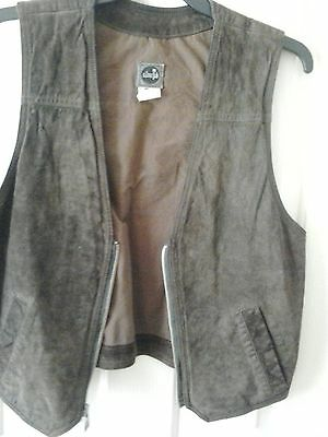 Levi's Leather Vest (Silver Tab)...Size M ...Pre Owned....