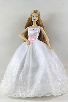 Fashion Princess Party Dress/Evening Clothes/Gown For Barbie Doll p45
