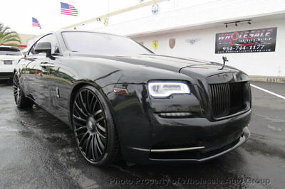 Rolls-Royce Wraith 2dr Coupe CELEBRITY OWNED. MANY 2016 YEAR MODEL UPGRADES . MUST SEE. CALL 954-744-1177