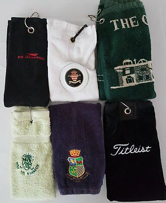 Lot De 6 Serviettes De Golf