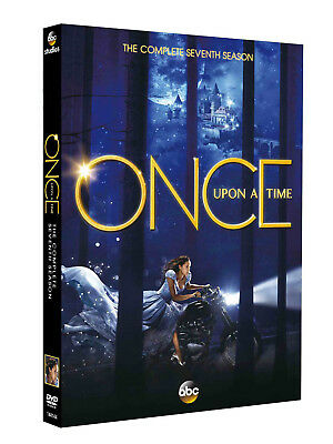 Once Upon a Time Season 7 (DVD, 2018,5-Disc Set) Postage Free - New/Sealed