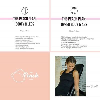 MEGGAN FIT PEACH PLAN BUNDLE: Upper Body & Abs, Booty & Legs, Peach Plan 2