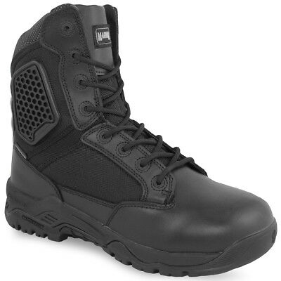 Magnum Strike Force 8 Police Security Waterproof Side-Zip Boots Black ALL SIZES