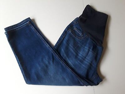 Women's Old Navy Maternity Stretch Blue Jeans Pants Size Waist 36