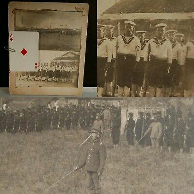 Rare! Early Republic of China Missionary Real Photo Chinese Soldier Beiyang KMT