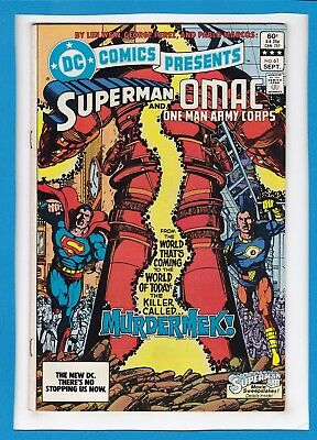 Dc Comics Presents #61_Sept 1983_Very Fine_Superman_Omac-One Man Army Corps!