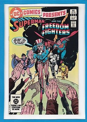 Dc Comics Presents #62_October 1983_Very Fine_Superman_The Freedom Fighters!