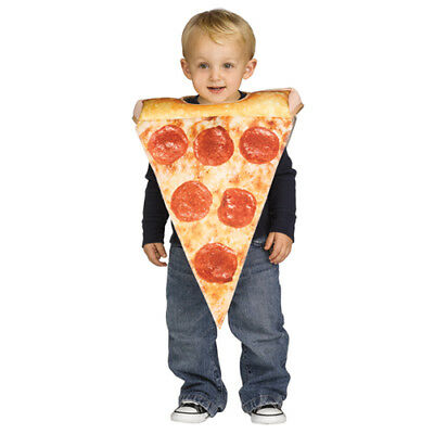 Toddler Lil Pizza Slice Halloween Costume size 3T-4T