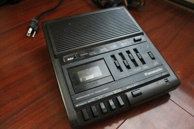 Panasonic RR-930 MicroCassette Transcriber Machine - No Pedal - works great