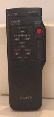 Sony Handycam VTR Video8 Remote RMT-509 - Works Great