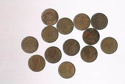 CIRCULATED Queen Elizabeth II New Half Penny Coins - CHOOSE DATE