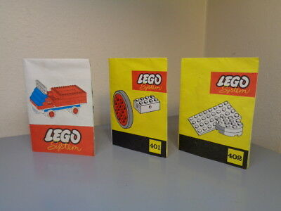 Lego System Denmark Vintage 1960's Folder / Leaflet Collection Very Rare Vg