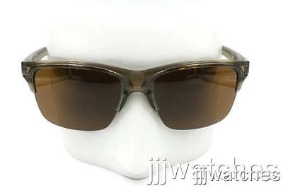 7370df4c60f4b New Oakley Thinlink Sepia Dark Bronze Semi Rimless Sunglasses OO9316 02  130