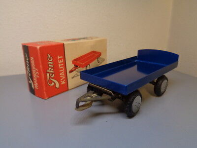 Tekno Denmark 737 Vintage 1950's Dodge Truck Trailer Very Rare Item Mint In Box